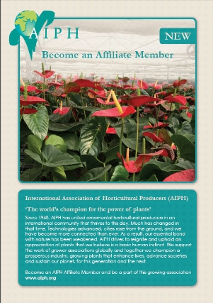 AIPH announces new Affiliate Membership category