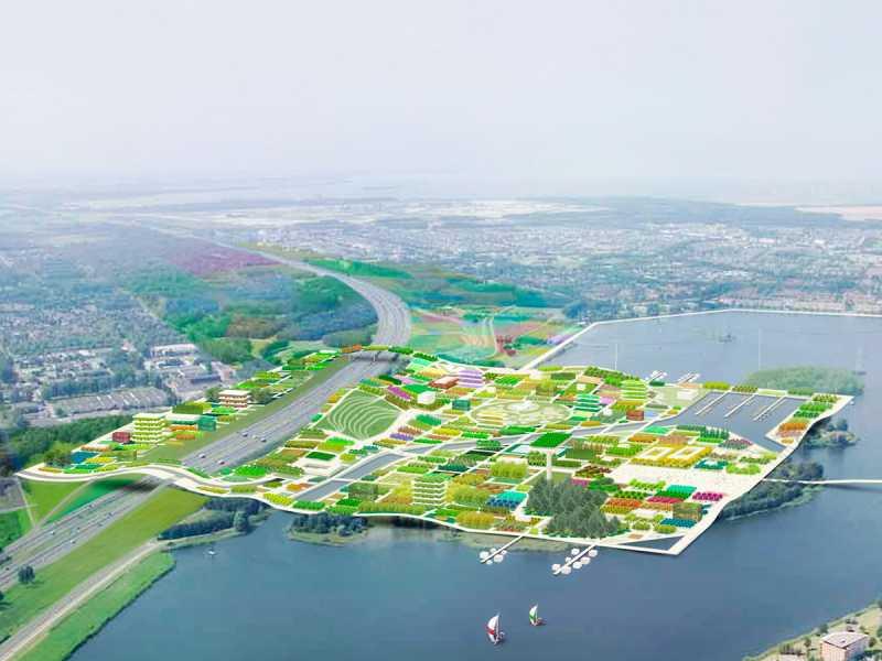 Almere 2022 - map