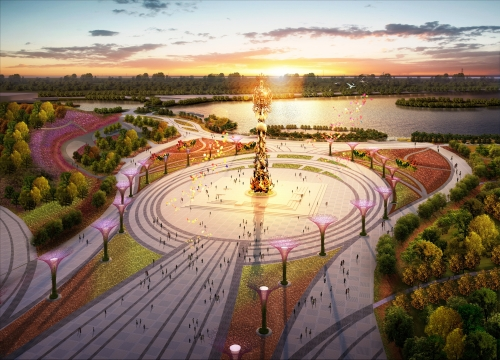 2016 Tangshan International Horticultural Exposition_DanFengChaoYang Square