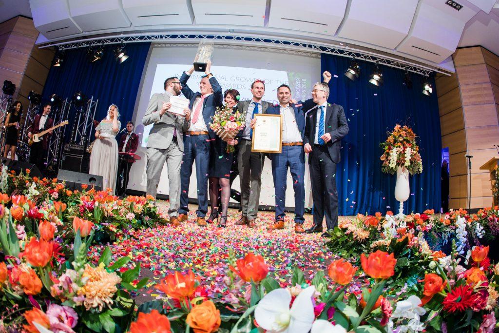 Industry Grower of the Year Winner 2018