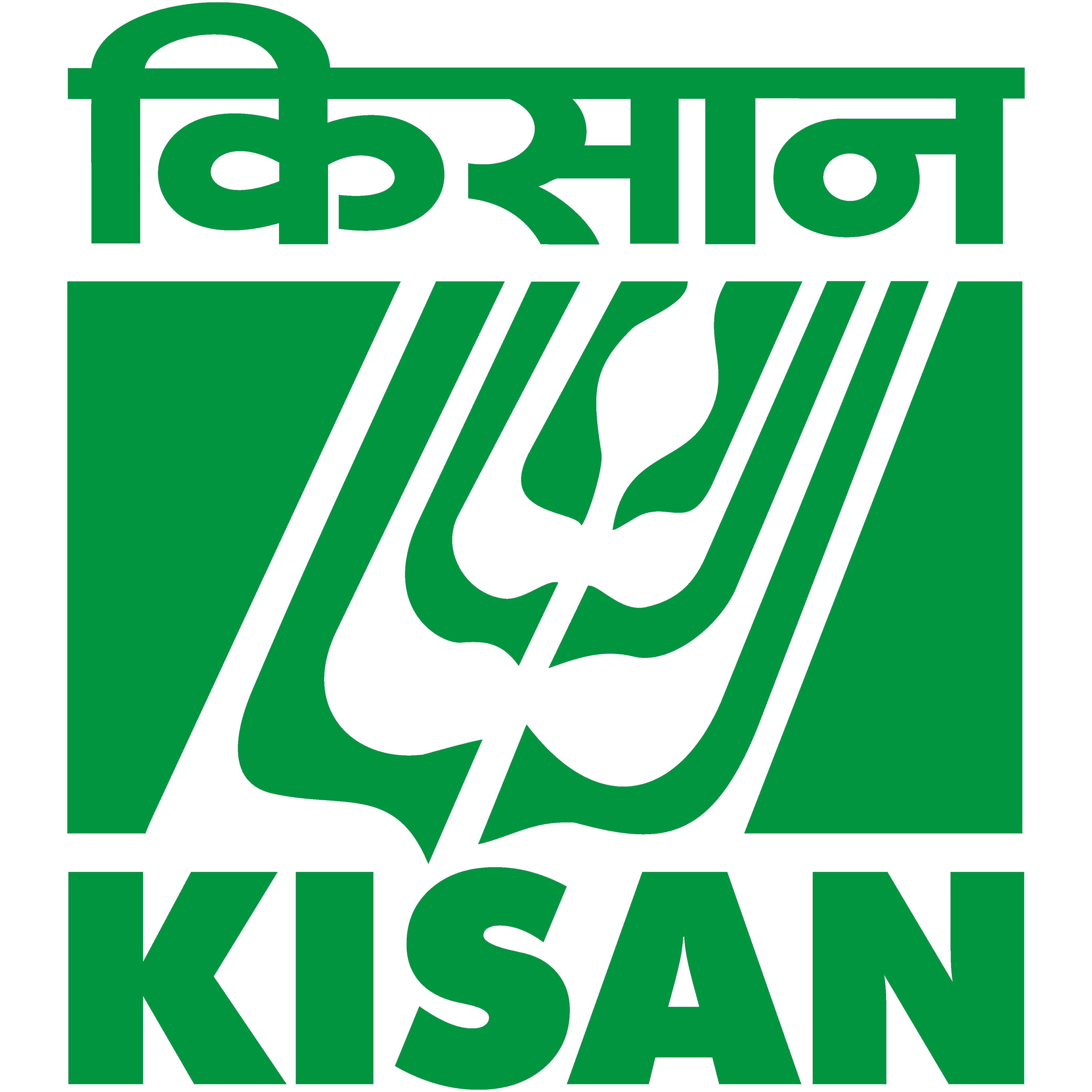KISAN Green logo
