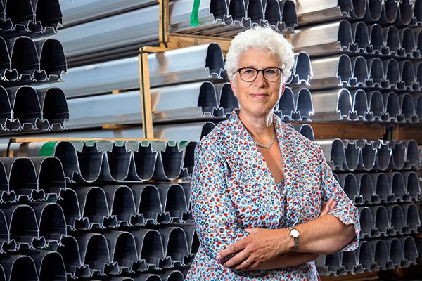 Annie van de Riet, president of AVAG