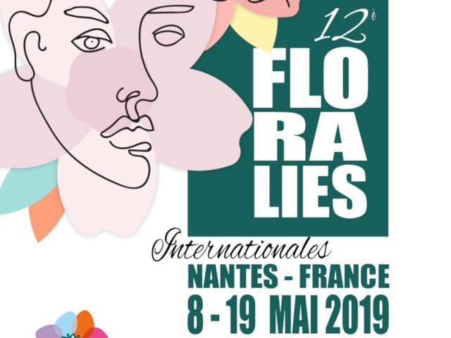 Floralies Nantes Logo