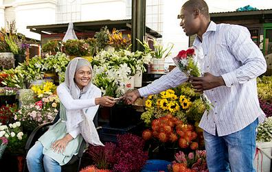 Flower auction market group